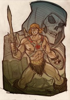 He-Man & Skeletor #MOTU