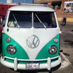 pristine VW bus is a Hermosa must