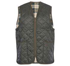 Barbour Quilted Waistcoat/Zip-In Liner