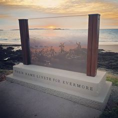 """A must do when in Emu Park, QLD is visit 'The Centenary of ANZAC Memorial Walk', it's reflective and includes - """"The Spirit - Gallipoli…"""