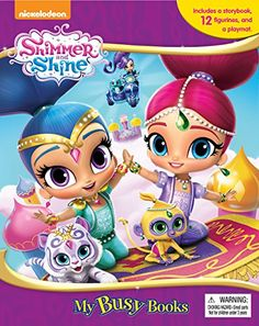 If your child loves the genies-in-training Nickelodeon show, the Trends International Shimmer and Shine - Key Art Wall Poster - x in. Shimmer And Shine Costume, Shimmer And Shine Cake, My Busy Books, Nick Jr, Keys Art, Edible Cake Toppers, Cupcake Toppers, 8th Birthday, Birthday Cakes