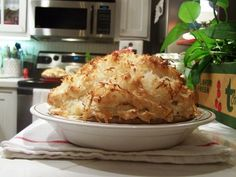 Tina makes the yummiest things! Here is her cocoanut cream pie recipe!