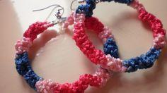 SALE / funky / hippie crochet earrings by KaterinakiJewelry Hippie Crochet, Sale 50, Crochet Earrings, Spring, Bracelets, Summer, Etsy, Jewelry, Bangle Bracelets