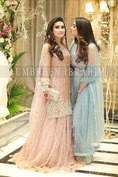 Asian Wedding Dress Pakistani, Pakistani Party Wear Dresses, Walima Dress, Pakistani Wedding Dresses, Wedding Dresses For Girls, Pakistani Dress Design, Indian Dresses, Bridal Outfits, Bridal Makeup