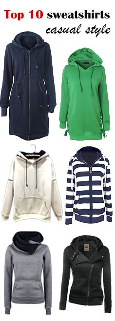 Top 10 new trendy sweatshirts.Shop the latest trend at FIREVOGUE.COM with an amazing price.