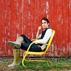 Andrew Bird. Love his music :o)