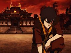 The Agni Kai | Zuko & Azula | The Last Airbender | Avatar | (gif)