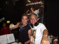 David Bisbal con Gustavo Pierral #Venezuela