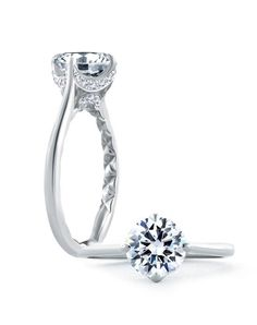 A. Jaffe Engagement Ring in White Gold with Round Stone I Style: ME1846Q I https://www.theknot.com/fashion/simple-round-diamond-quilted-engagement-ring-me1846q-ajaffe-engagement-ring?utm_source=pinterest.com&utm_medium=social&utm_content=june2016&utm_campaign=beauty-fashion&utm_simplereach=?sr_share=pinterest