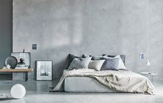 BEDROOM INSPIRATION | bedroom of a stylist | A calm refuge from chaotic city life, styled by Amanda Rodriguez for Ikea