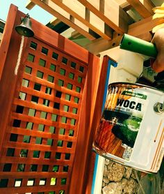 WOCA Outdoor Oil For Outdoor Wood, Decking And Outdoor Wood Furniture. Part 88