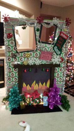 Christmas photo booth.