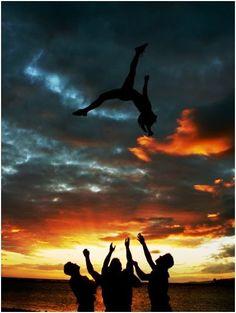 Cheerleading  cool pic!
