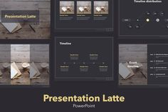 Latte PowerPoint Template by Jumsoft on Envato Elements Presentation Design Template, Business Presentation, Powerpoint Presentation Templates, Keynote Template, Design Templates, Powerpoint For Mac, Microsoft Powerpoint, Power Points, Latte