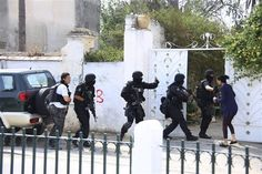 A Tunisian soldier opened fire on colleagues at a military base in the capital Tunis on May 25, killing an officer and two others and wounding 15 more before being shot dead himself, Tunisian authorities said.