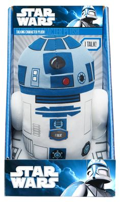 Star Wars 9 inch Talking R2D2 Plush - The baby needs as many of these as possible!