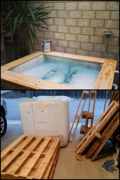 ibc above ground plunge pool outdoors get outside more pinterest plunge pool pool spa. Black Bedroom Furniture Sets. Home Design Ideas