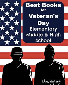 Veterans Day Book Ideas for All Ages (elementary, middle, high school) - homeschooling unit study idea Homeschool Books, Homeschool High School, Homeschool Curriculum, Homeschooling Resources, Music Activities For Kids, Veterans Day Activities, Educational Activities, Holiday Activities, Veterans Day Elementary