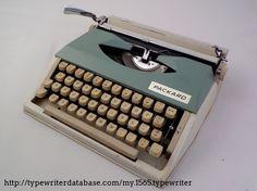 196X Packard (Montana) Packard on the Typewriter Database