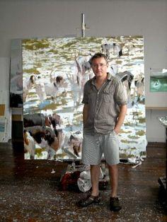 Alex Kanevsky (b1963 Rostov, USSR; of Lithuanian descent; since 1983 based in PA, US) http://www.dolbychadwickgallery.com/artists/alex-kanevsky