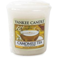 Yankee Candle Camomile Tea Samplers ($7.89) ❤ liked on Polyvore