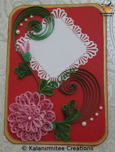 1416 Best Quilling Card Images On Pinterest Quilling Quilling