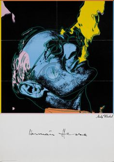 aboutdesolationrow: Hermann Hesse by Andy Warhol