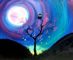 Where the Wild Things Are at Ward Johnson Winery - Paint Nite Events