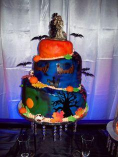 halloween wedding cakes   halloween wedding cakes