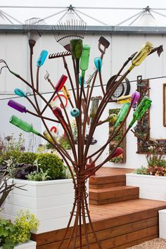 BBC Gardeners' World Live 2012 – Flowerona's Pick of the Gardens… Purple Color Palettes, Hallmark Cards, Flower Show, Plant Hanger, Bbc, Closer, Gardens, Live, World