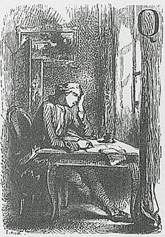 Werther (1787) Franse editie (1845): Que je suis aise d'être parti..