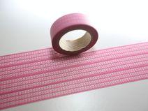 Washi Masking Tape rosa Luftschlangen