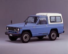 1980-85 Nissan Safari Hard Top High Roof AD