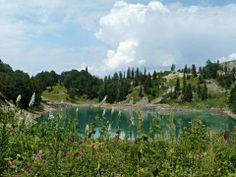 Mtsvane lake, Khulo municipality, _ Georgia.