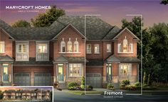 is home to many beautiful dwellings, including our very own Fremont (Elevation B). Come and rediscover Brampton in Mayfield Village. Community, Mansions, House Styles, Beautiful, Home Decor, Mansion Houses, Homemade Home Decor, Manor Houses, Fancy Houses