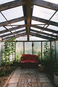 garden   green house   escape   outdoor room