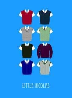Little Nicholas (2009) ~ Minimal Movie Poster by Sunyoung #amusementphile
