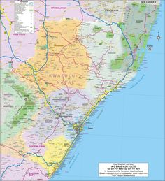 Discover the wonderful province of KwaZulu Natal, situated to the south-eastern South Africa, this province is the heart of the Zulu culture of countries. Kwazulu Natal, Tourist Information, St Francis, Travel Guide, South Africa, Surfing, Map, Activities, Holiday