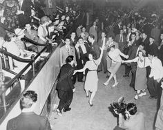 Dance A Thon Jitterbug Dancers Viintage 8x10 Reprint Of Old Photo