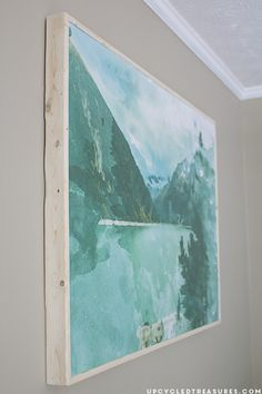 How to Create Large Scale Wall Art on a Budget & How to Create Large Scale Wall Art on a Budget (under $30!) | Real ...