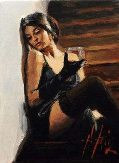 by Fabian Perez.. #wine