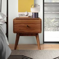 Modern Nightstands and Bedside Tables Brown Nightstands, 2 Drawer Nightstand, Floating Nightstand, Painted Night Stands, Bedroom Night Stands, End Tables With Storage, All Modern, Modern Contemporary, Storage Spaces