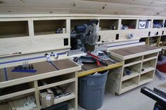 Miter Saw Bench with Rockler T-Track