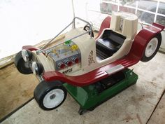 eBay watch: 1970s Bafco coin-operated hot rod car