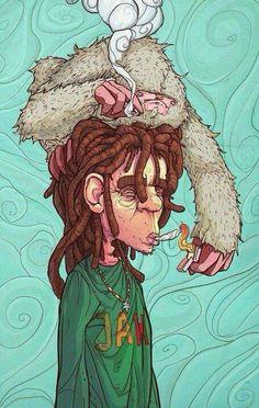 weed; marijuana; high; cannabis; psychedelic; trippy; dope; pot; sinsemilla…