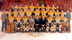 Team picture of the 1980-1981 Pittsburgh Penguins