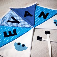 Handmade car flag bunting, personalised with any name. Each flag is carefully produced by hand therefore can be made to suit your own ideas. Xmas Presents, Birthday Presents, Sewing Patterns For Kids, Sewing Ideas, Kids Gifts, Baby Gifts, Apple Gifts, Personalised Bunting, Car Flags
