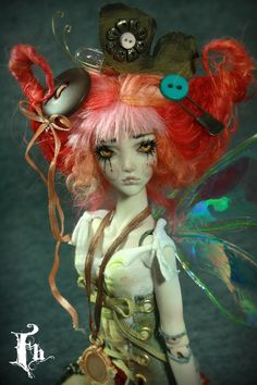 BJD doll House Fairy by Aidamaris Forgotten Heart by FHdolls.deviantart.com on @deviantART