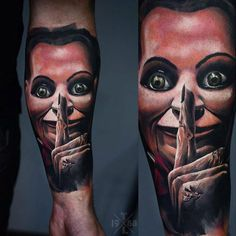 Realism Face Tattoo by Timur Lysenko - http://worldtattoosgallery.com/realism-face-tattoo-by-timur-lysenko-2/