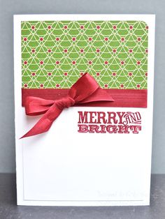 Stampin' Up ideas and supplies from Vicky at Crafting Clare's Paper Moments: Three Minute Thursday